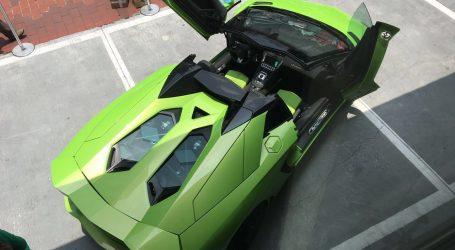 Primer Lamborghini Aventador Spider que llega a Centroamérica y está aquí, en Panamá