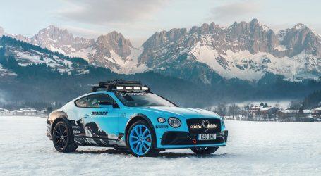 Bentley Continental GT 2020 en el GP Ice Race en Austria