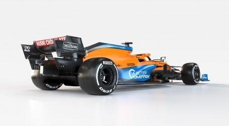 McLaren presenta su auto de Fórmula 1, 2021