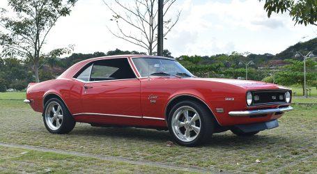 """CHEVROLET CAMARO 1968.  """"Un pequeño y vicioso animal que come Mustangs"""""""