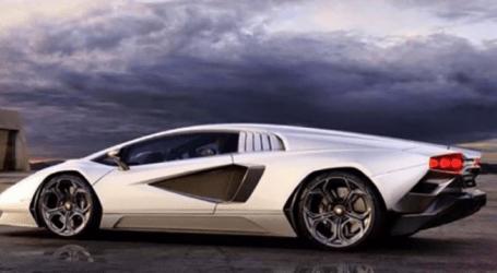 Filtradas fotos del nuevo Lamborghini Countach