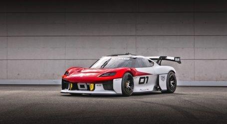 Porsche presenta su prototipo futurista Mission R